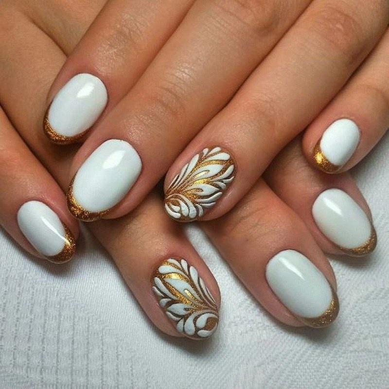 овальна форма нігтів фото