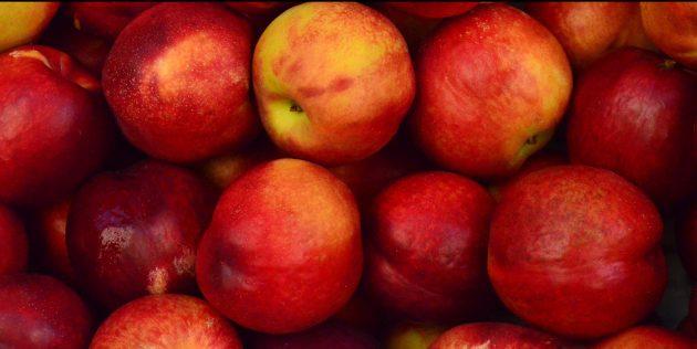 як вибирати персики і нектарини