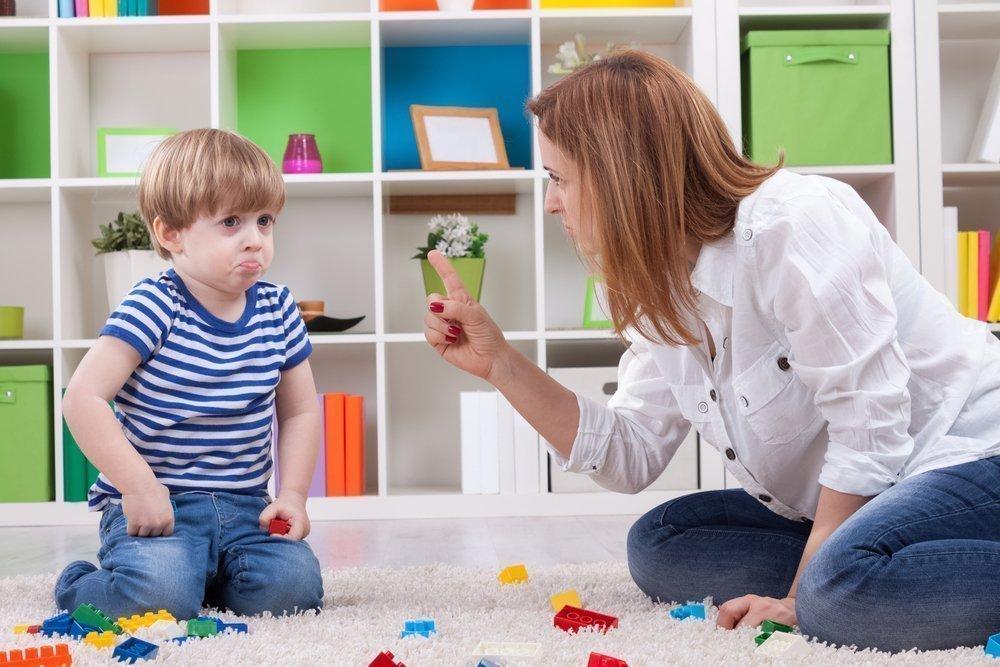 що робити якщо дитина провинилась
