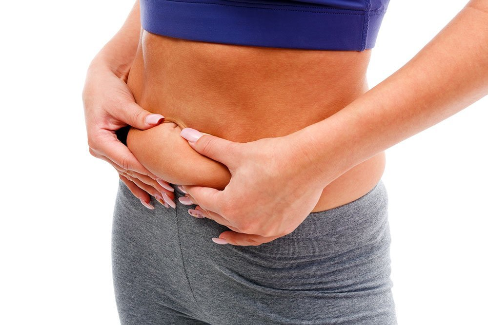 як похудати в животі