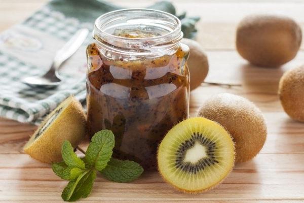 Яблучне варення з ківі