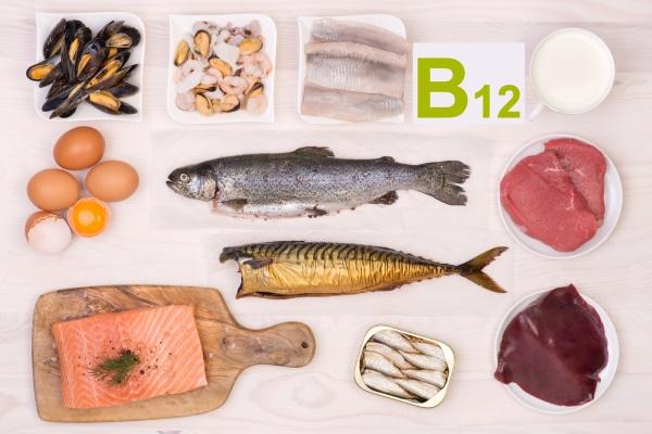 Вітамін В12 в морепродуктах