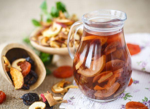 Компот із сухофруктів за класичним рецептом