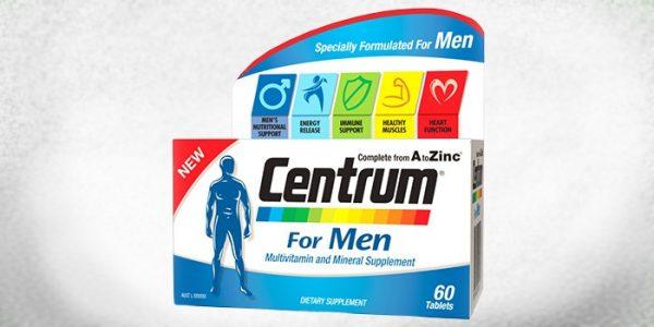 Вітаміни Центрум для чоловіків