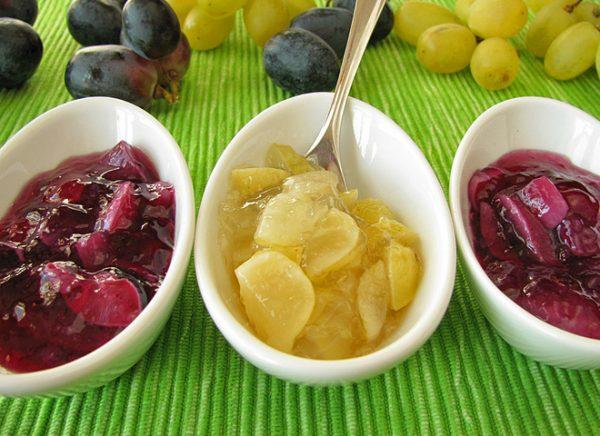 Виноград в сиропі на зиму