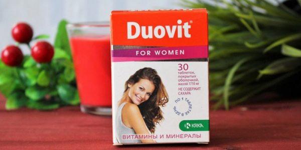 Вітаміни Дуовіт