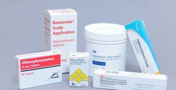 Препарати для лікування дерматиту
