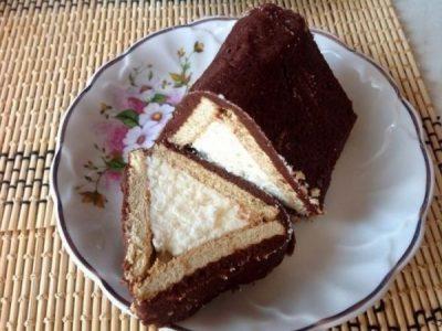 Торт з печива класичний