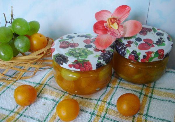 Сливове варення з апельсинами