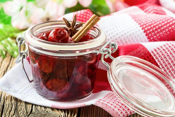 Ароматне вишневе варення