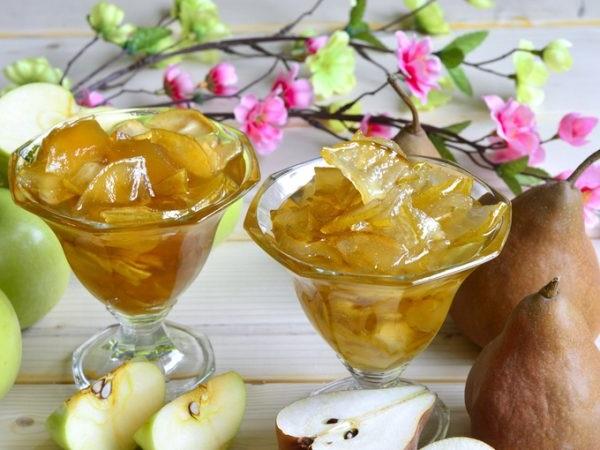 Варення з яблук і груш в мультиварці