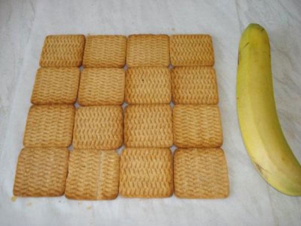 Викласти шар печива