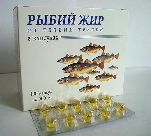 Риб'ячий жир багатий вітаміном Д