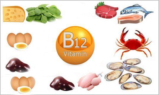 вітамін B12: в яких продуктах він міститься