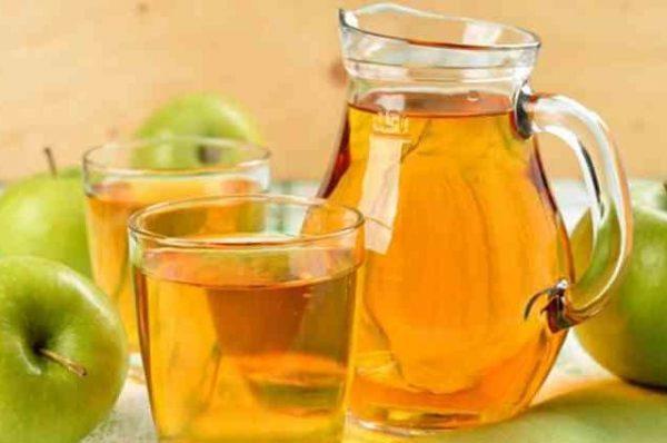 компот з яблук за класичним рецептом