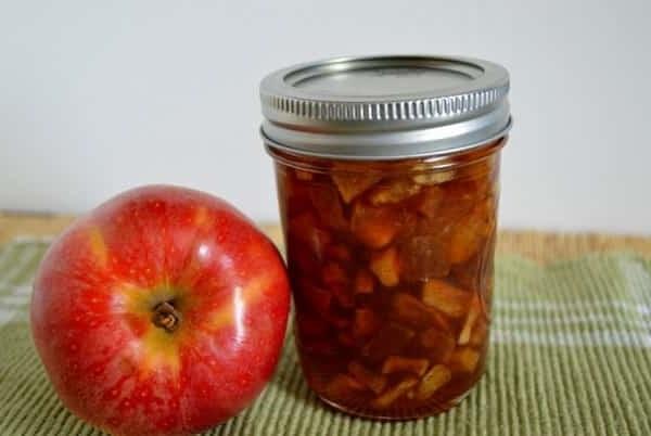 Варення з яблук з додаванням соди