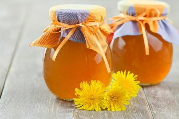 Варення з кульбаби і меду