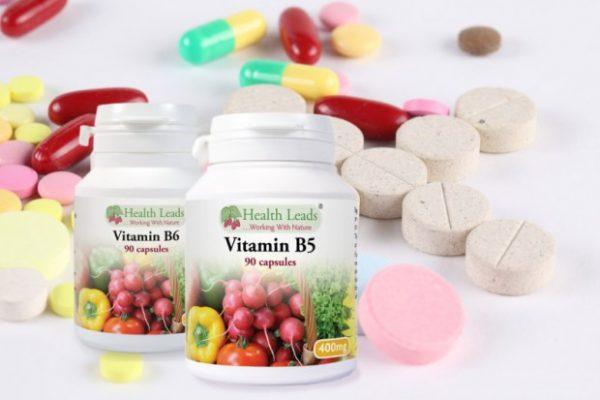 Вітамін В у таблетках