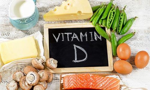 Де міститься вітамін Д