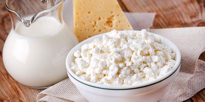 Вітамін Д в молочних продуктах