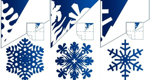 итинанки сніжинки