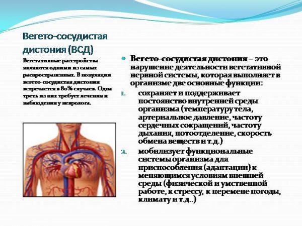 що таке вегето судинна дистонія