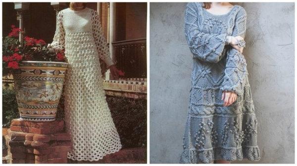 в'язані сукні