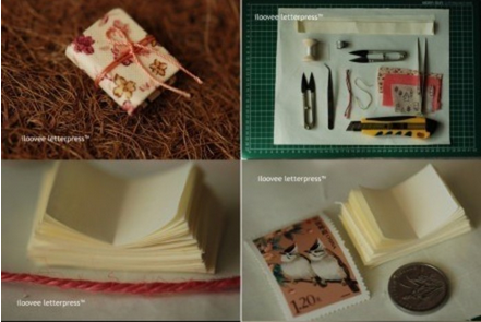 мініатюрний блокнот своїми руками