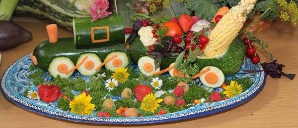 поробки з овочів