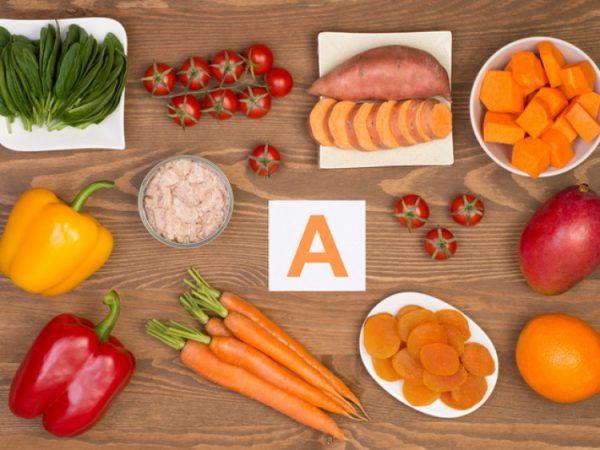 в яких продуктах міститься вітамін а