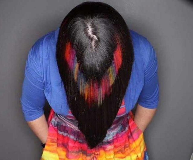 Растрові фарбування волосся