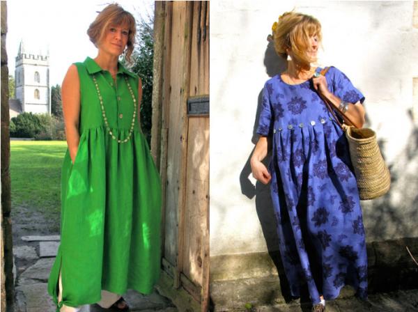 яскраві сукні в стилі бохо