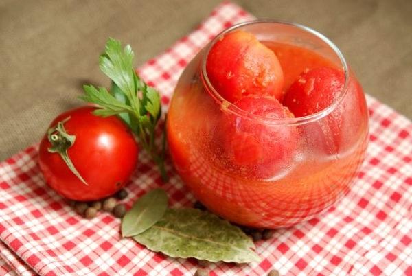 консервація помідорів у власному соку