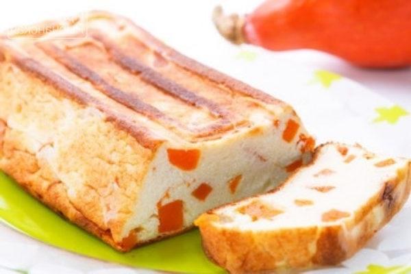 Класична сирна запіканка на молоці