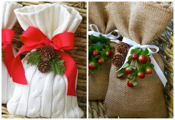 як оригінально упакувати новорічний подарунок