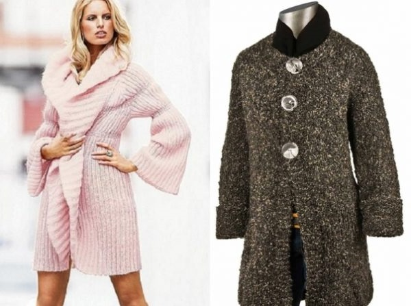 Моделі пальто для повних жінок