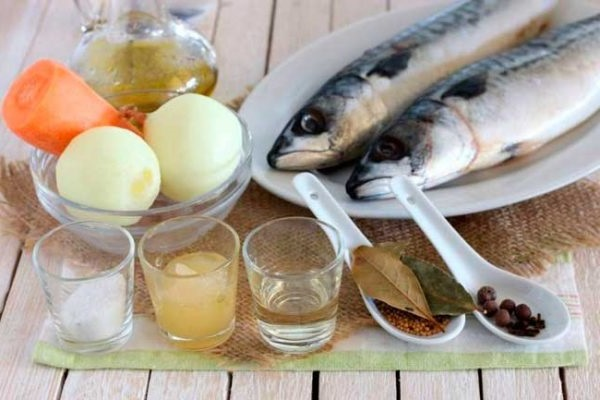 маринована скумбрія рецепт