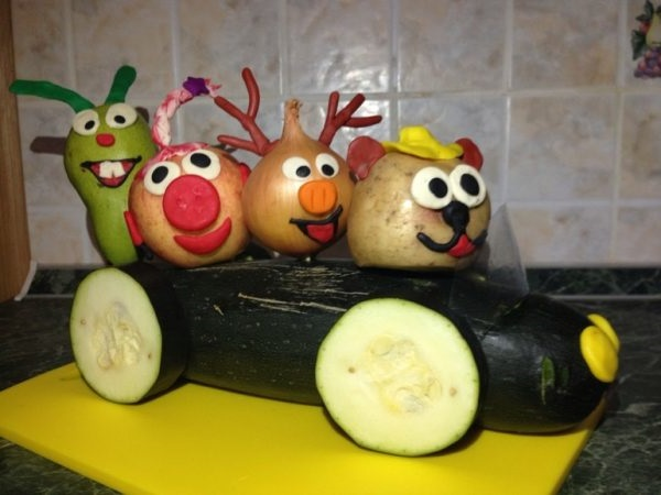 вироби з овочів