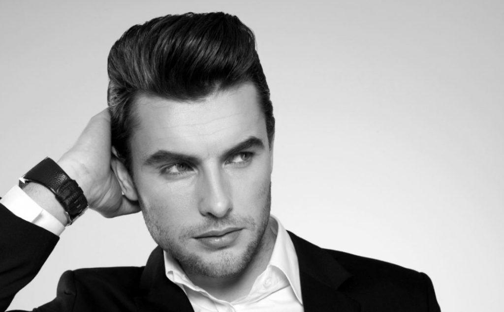чоловічі стрижки на середнє волосся 2018