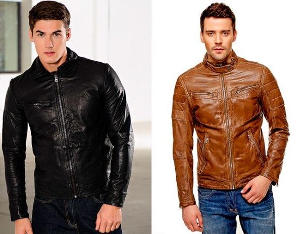 Колір чоловічих шкіряних курток 2018 2019