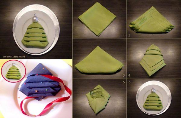 виготовлення ялинки з паперу