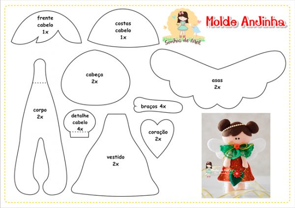 новорічні іграшки з фетру викрійки