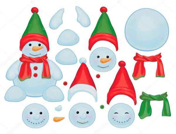 новорічні іграшки з фетру шаблони