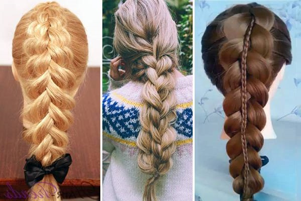 зачіски на кожен день для довгого волосся