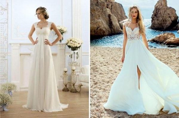 весільні сукні не пишні