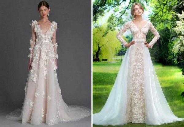 весільні сукні пишні