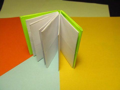 як зробити блокнот своїми руками на день народження