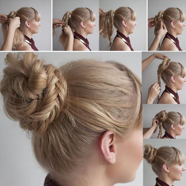 зачіски на кожен день на довге волосся