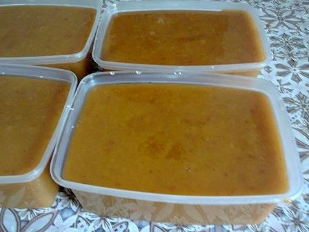 Як заморозити абрикосове пюре на зиму