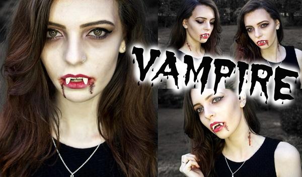 макіяж вампіра для дівчат